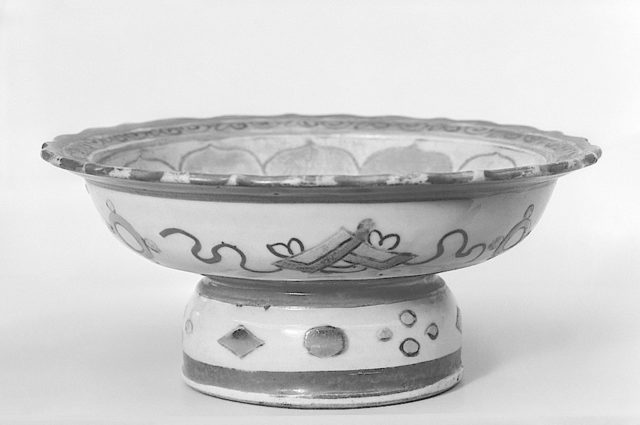 Footed Dish