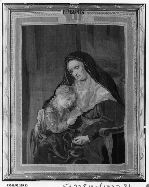 Hannah and the Infant Samuel