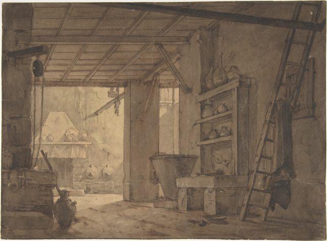 Interior of Farm House