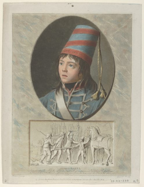 Joseph Barra after F. Garnerey