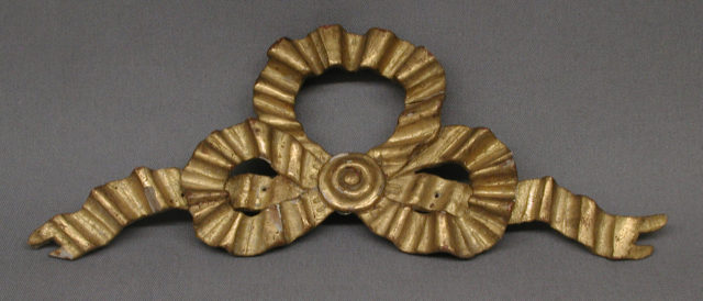 Knot of ribbon
