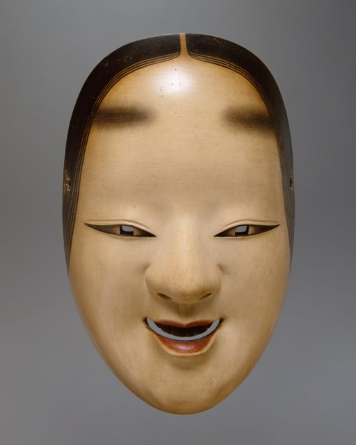 Ko-omote Mask for a Noh Drama