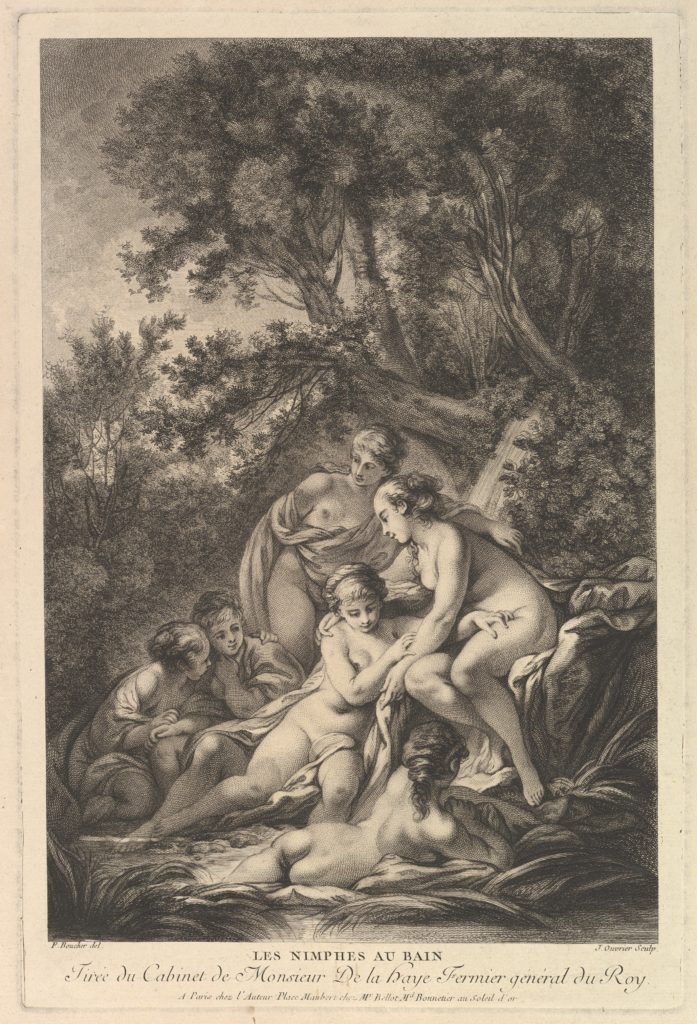 Les Nimphes au Bain (The Nymphs at the Bath)