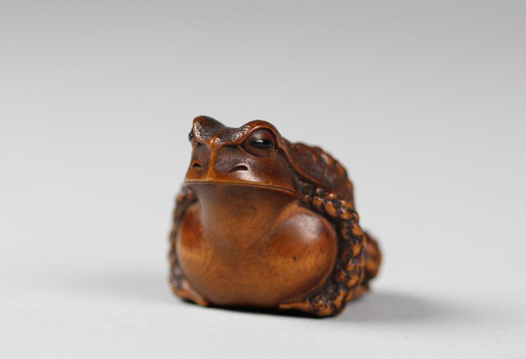 Netsuke of Frog