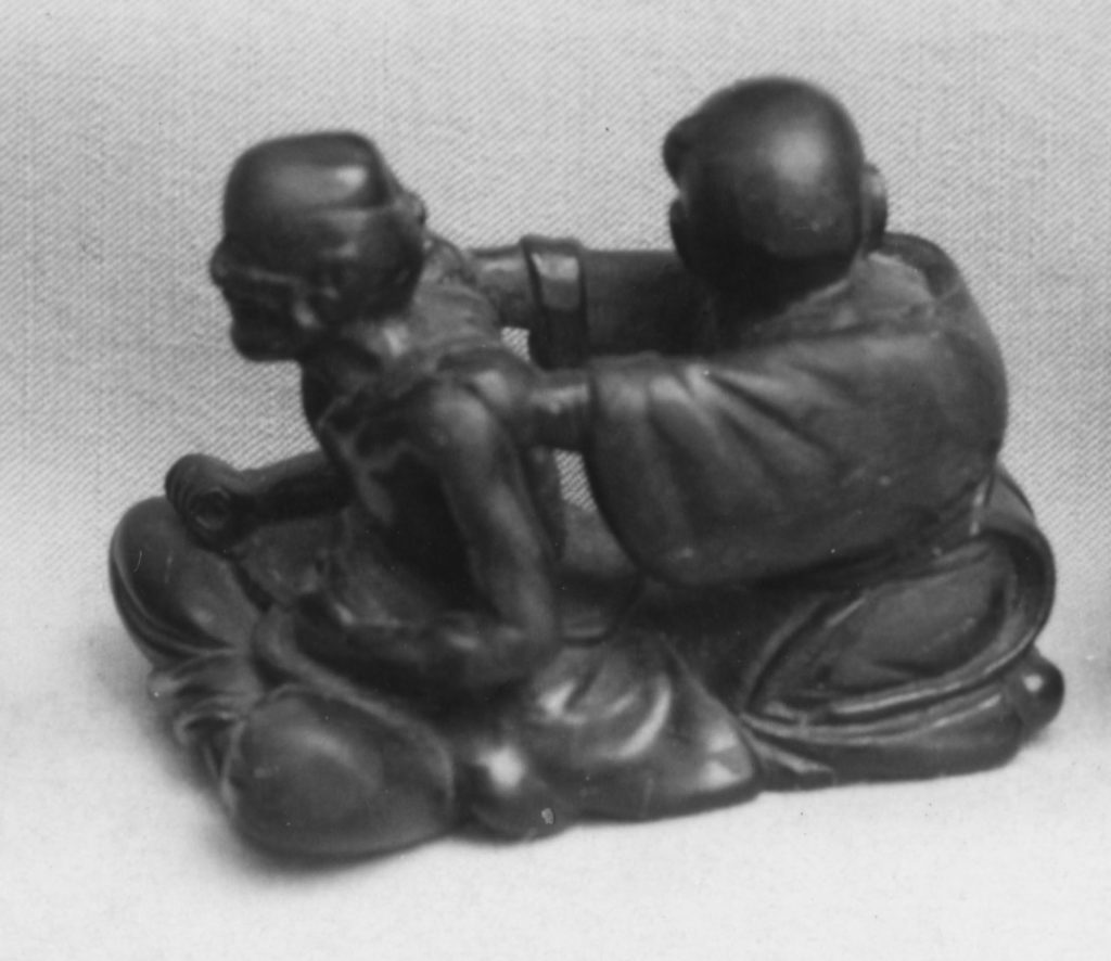 Netsuke of Two Figures