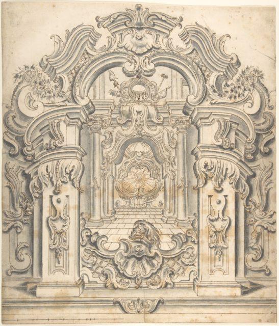 Ornate architectural design