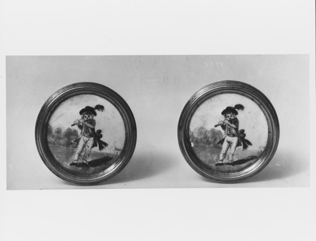 Pair of mirror knobs