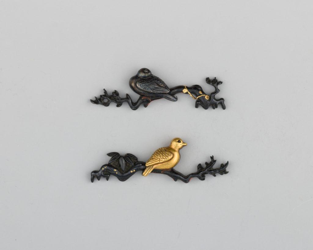 Pair of Sword-Grip Ornaments (Menuki)