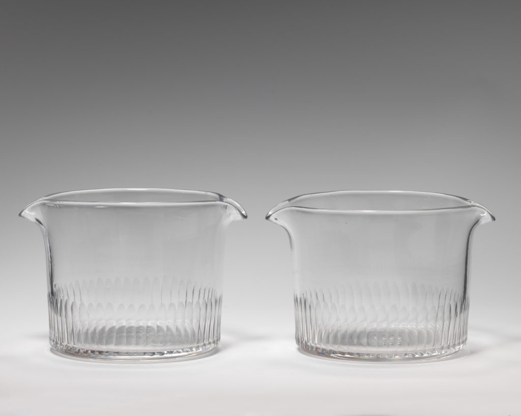 Pair of wineglass coolers