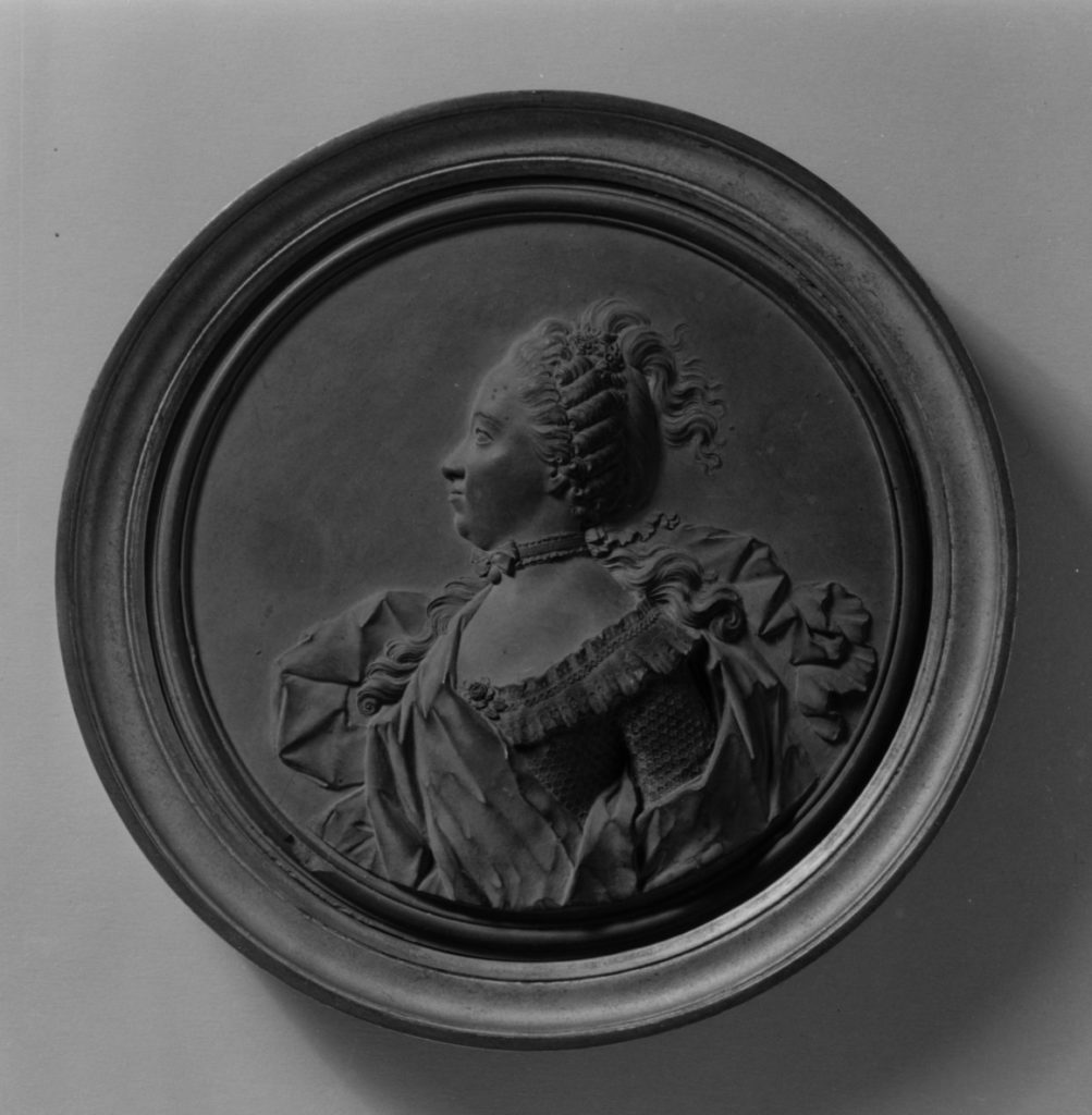 Portrait of a lady, possibly the Marquise de Vaudreuil