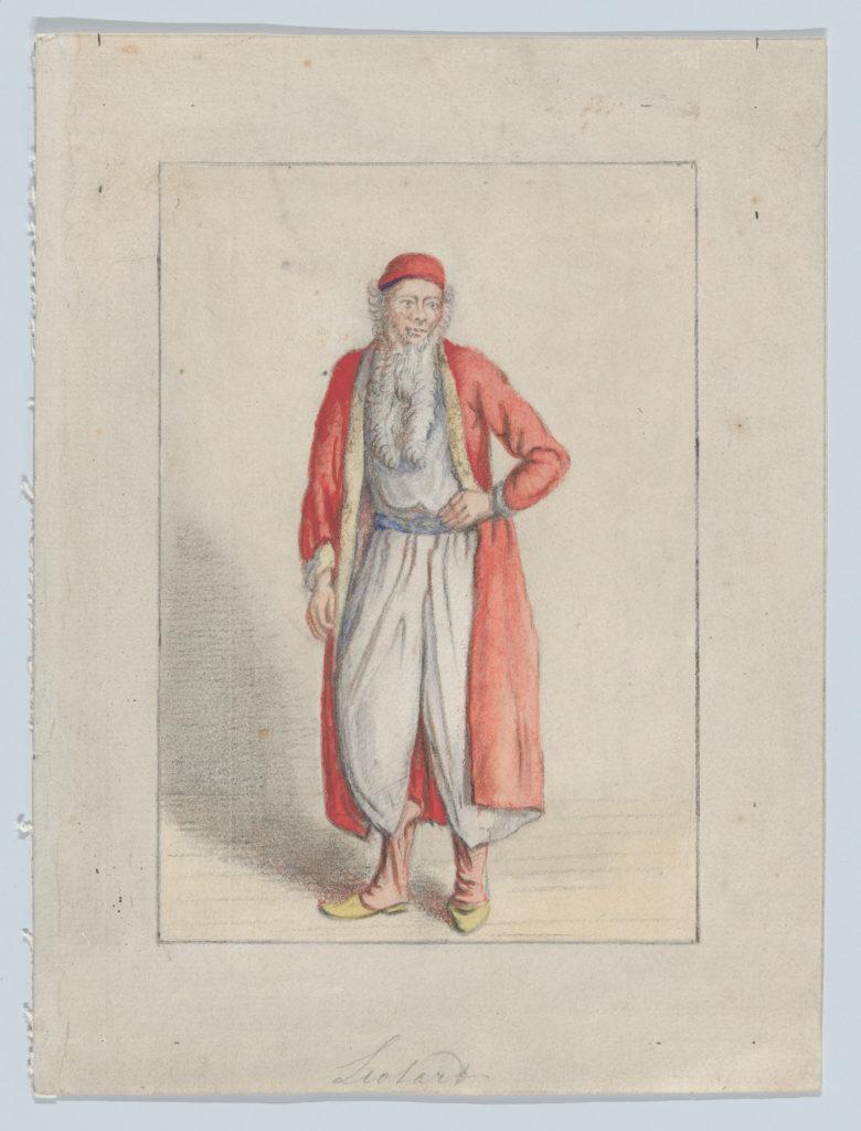 Portrait of Jean-Étienne Liotard