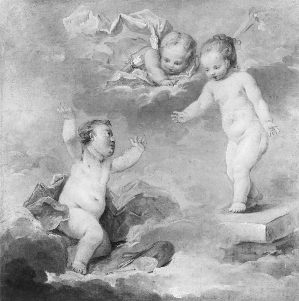 Pygmalion and Galatea as Infants