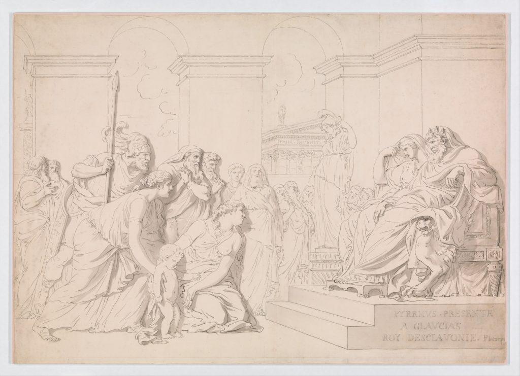 Pyrrhus in the House of Glaucias