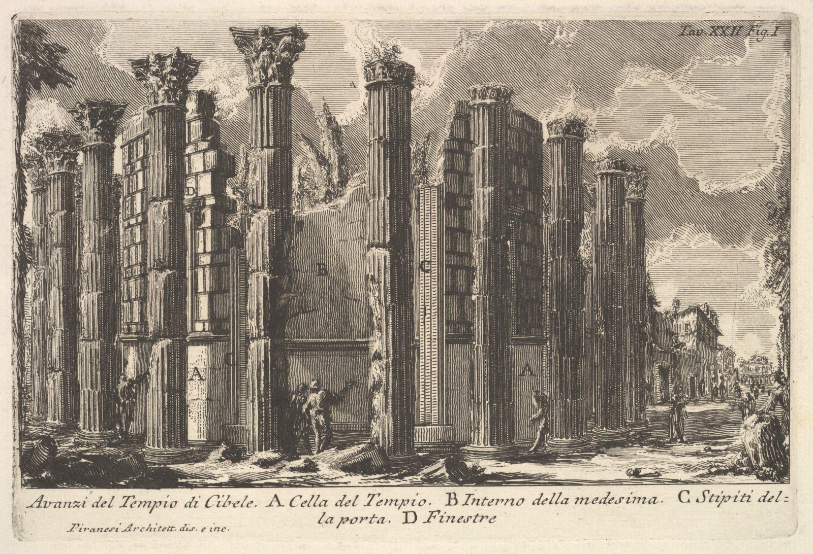 Remains of the Temple of Cybele (Avanzi del Tempio di Cibele)