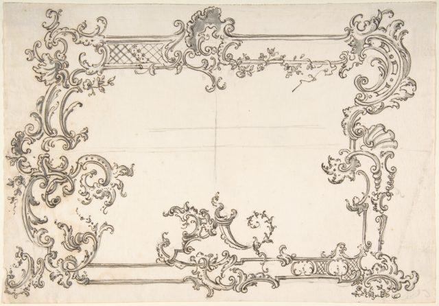 Rococo Design for a Frame