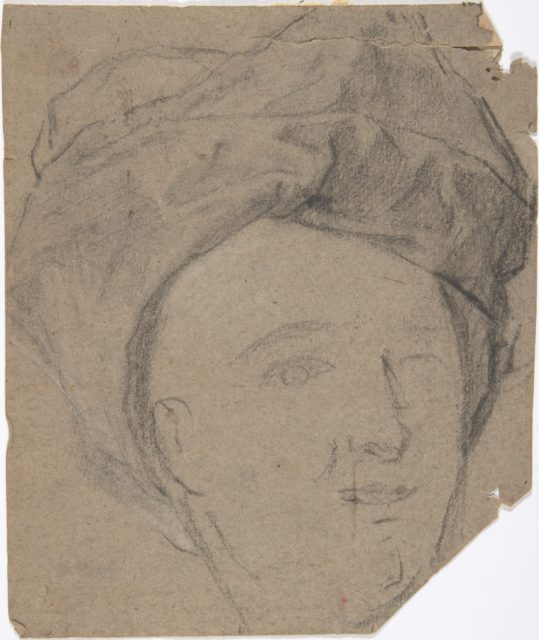 Sketch of Man in Turban