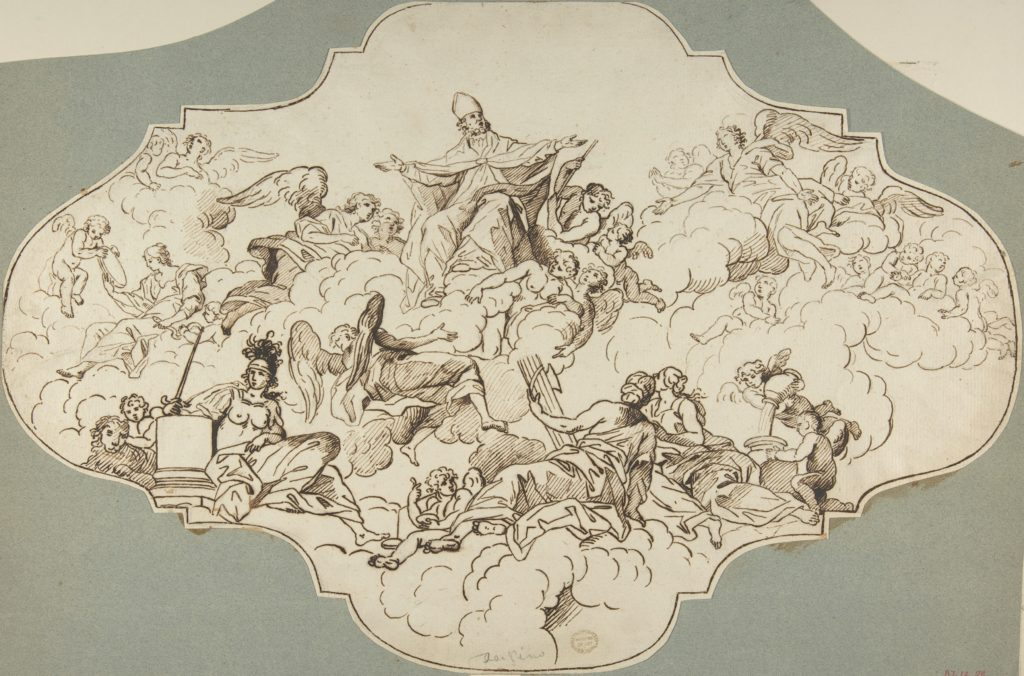 Study for a Ceiling Panel