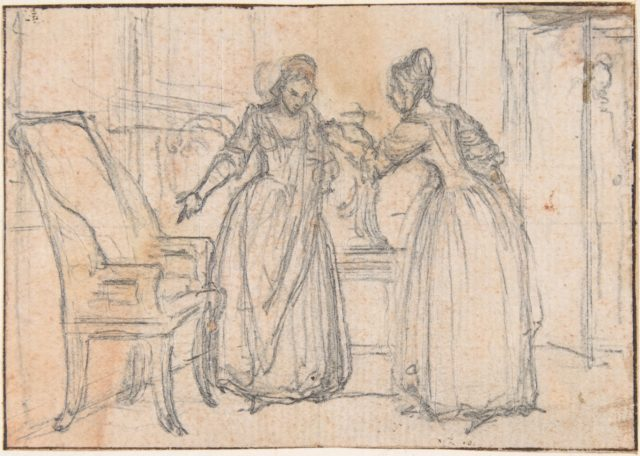 """Study for an Engraving of """"Songs in the Opera of Flora"""""""