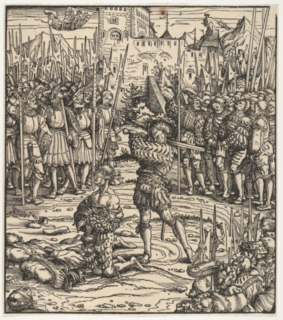 The Execution of the Guardian of Kufstein, from Der Weisskunig