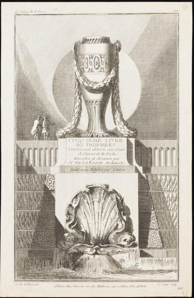 Title page from Cinquieme Livre de Trophées