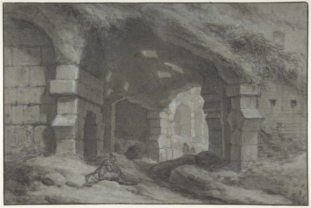 View Within the Colosseum, Rome