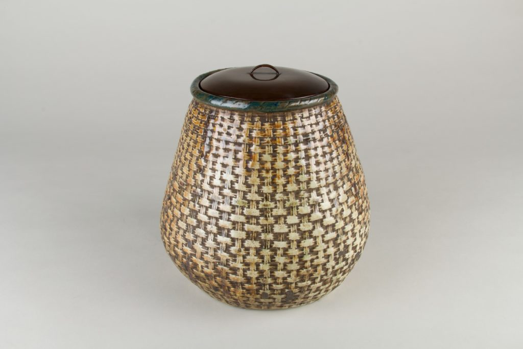 Water Jar in the Form of a Bamboo Basket