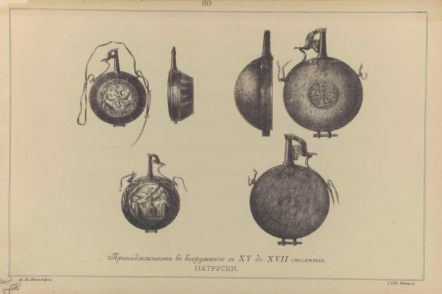 89. Accessories for armament from the fourteenth to the mid-seventeenth century. Natrusky