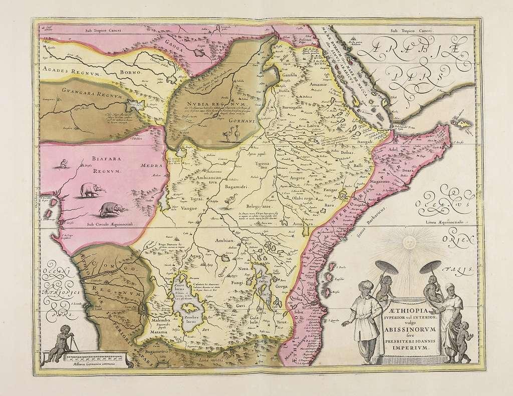 Aethiopia superior vel interior vulgo Abissinorum siue Presbiteri Ioannis imperium - CBT 6625150
