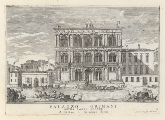Le Fabriche, e vedute di Venetia