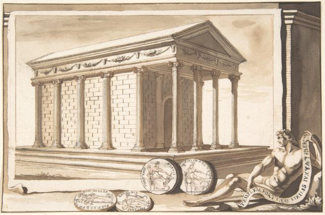 A Reconstruction of the Temple of Fortuna