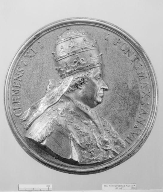 Pope Clement XI (Giovanni Francesco Albani, 1649–1721, Pope 1700–21)
