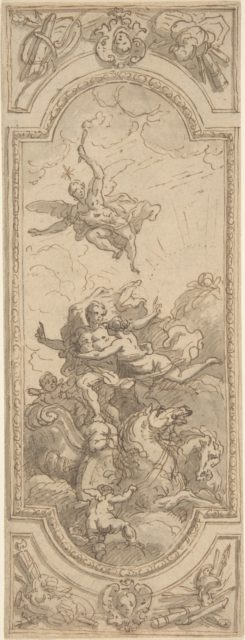 Design for a Ceiling with an Allegorical Subject