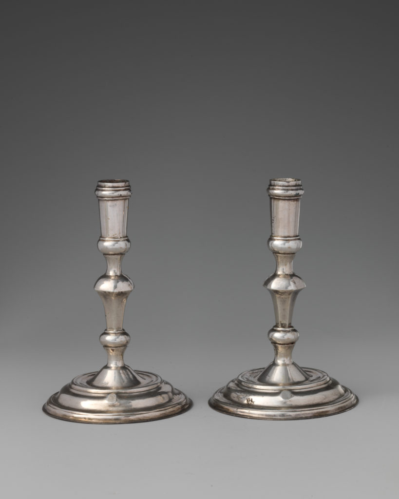 Pair of miniature tapersticks
