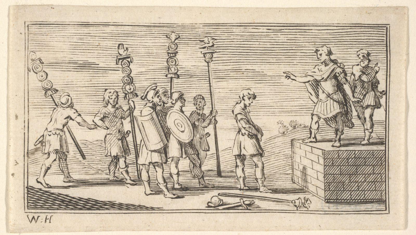 Shameful Discharge (John Beaver, Roman Military Punishments, 1725)