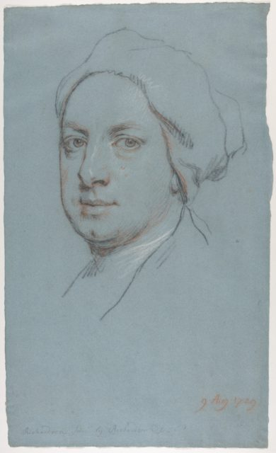 Portrait of Jonathan Richardson, Junior, the artist's son