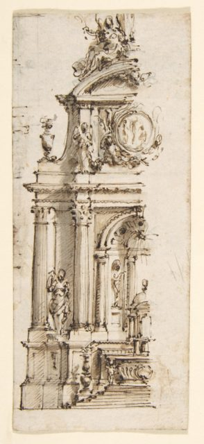 Design for the Left Half of an Altar