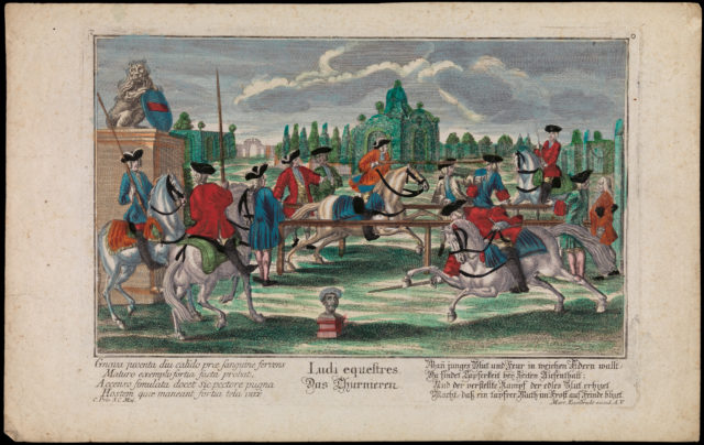Ludi equestres. Das Thurnieren (The Tournament)