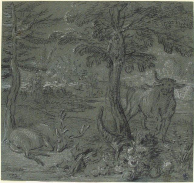 Acheloüs Transformed into a Bull
