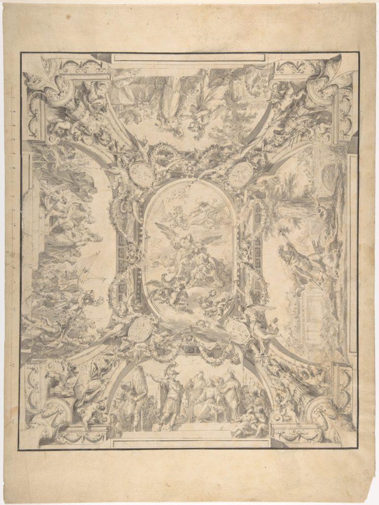 Design for a Ceiling: Jason and the Golden Fleece