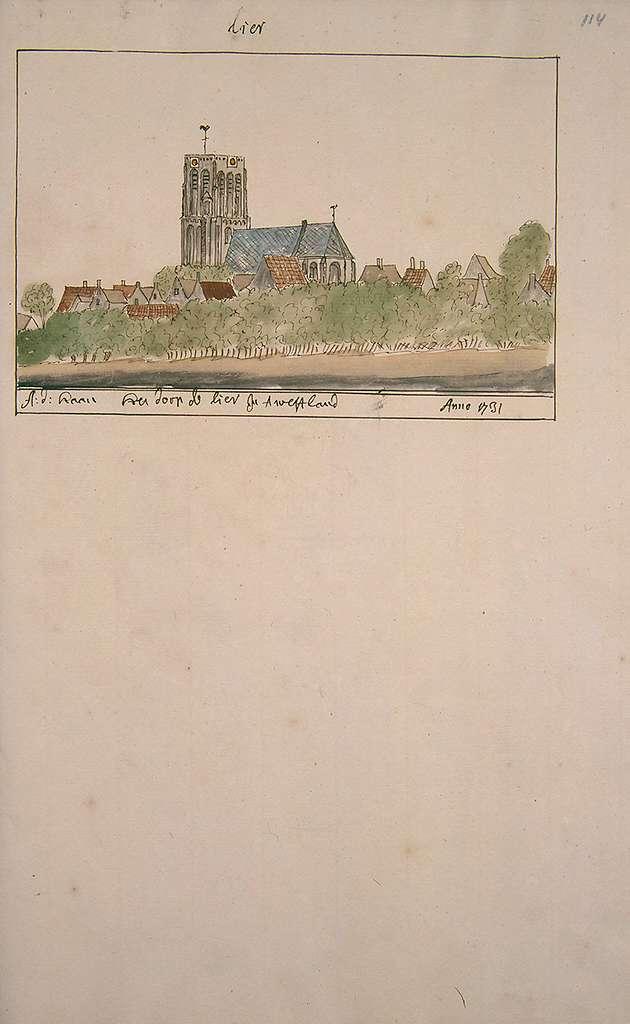 Atlas Schoemaker-ZUIDHOLLAND-DEEL4-2000-Zuid-Holland, De Lier