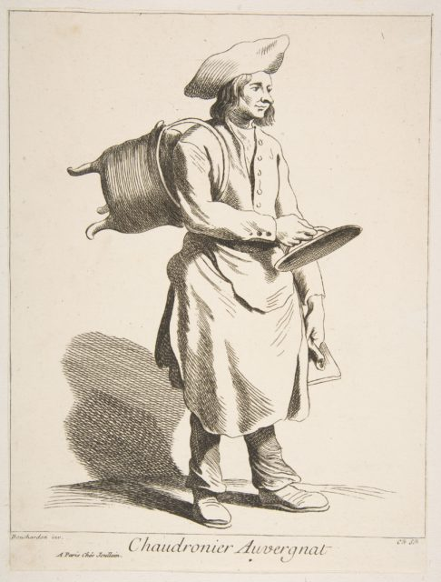 Coppersmith from Auvergne