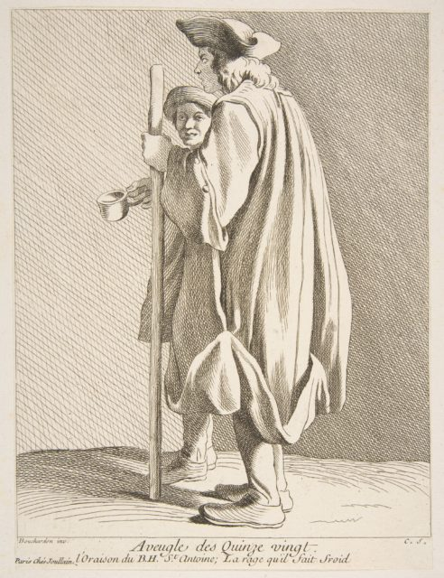 A Blind Man from the Quinze-Vingts Hospital