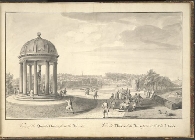 A General Plan and Prospective of Lord Viscount Cobham's Gardens at Stowe