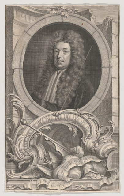 Sidney, Earl of Godolphin, Lord High Treasurer