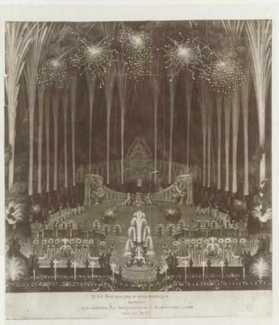 Coronation of Czarina Elizabeth, Moscow, April 25, 1742