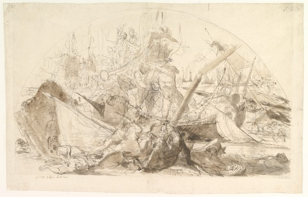 The Naval Battle of Meloria