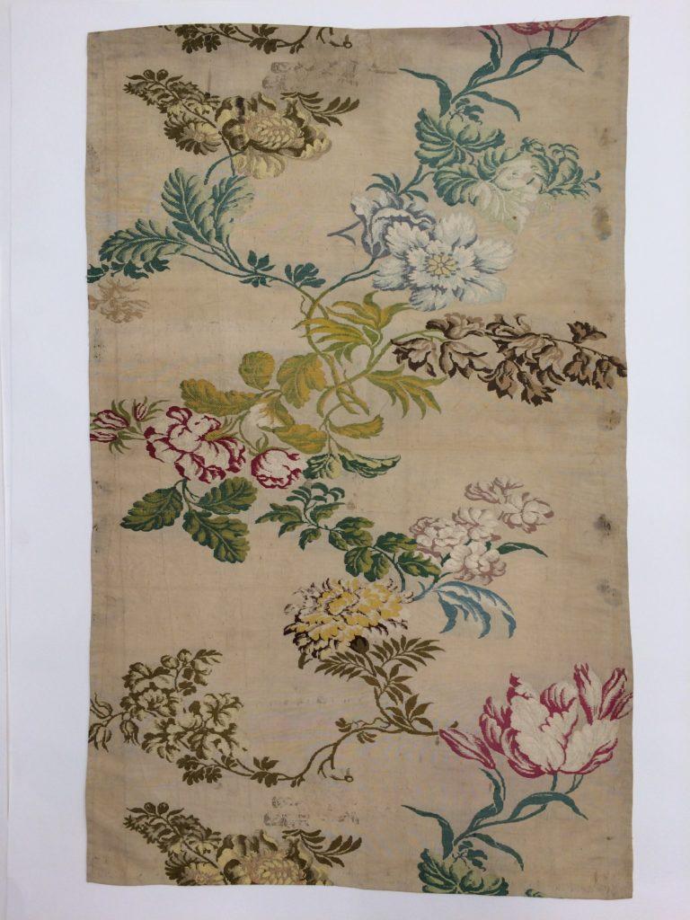 Piece of dress silk