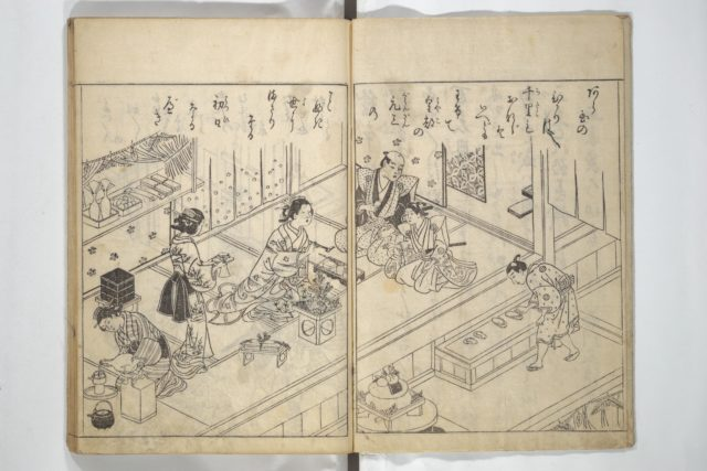 Picture Book of Life in the Capital (Ehon miyako zōshi)