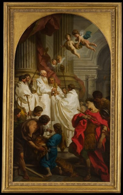 The Mass of Saint Basil