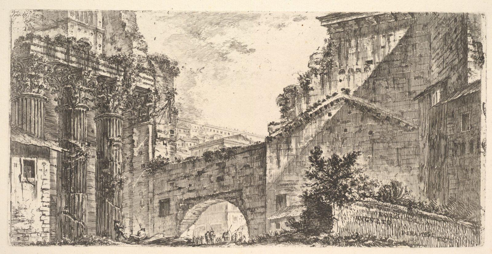 Plate 15: Forum of Augustus (Foro di Augusto)